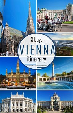 Only 3 days in Vienna? No problem! Check out this sample itinerary!  #must-visit…