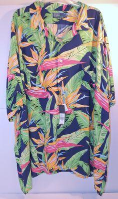 NWT Polo Ralph Lauren Big & Tall Blue Hawaiian Button Front Shirt Sz 4XB   http://www.ebay.com/itm/NWT-Polo-Ralph-Lauren-Big-Tall-Blue-Hawaiian-Button-Front-Shirt-Sz-4XB-517-/221940643548  #polo #bigtall  @beautymarcfashion #beautymarcfashion @bmarcfashion #bmarcfashion