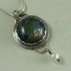 Labradorite Necklace Labradorite Jewelry by JRobergeJewelry, $95.00