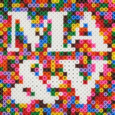Adore this!! Hama Be ads/Perla Beads and Initials.  Wedding present maybe?