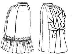 1885 Four-gore Underskirt Pattern by Truly Victorian, http://www.amazon.com/dp/B002A5T72U/ref=cm_sw_r_pi_dp_hn5qqb0B05E4R