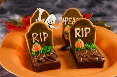 Snacks para Halloween, encuentra esta y otras recetas para preparar este Halloween aquí...http://www.1001consejos.com/snacks-para-halloween/
