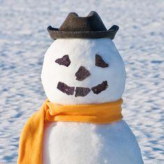 barkTHINS snowman!