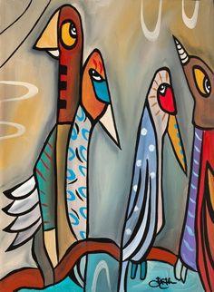 'Cubist Flyers' by Tom Fedro to view the full 'Tom Fedro' range visit… Tom Fedro, Pop Art, High School Art Projects, Cuban Art, Paint Photography, Art Inspiration Drawing, Funky Art, Pencil Art Drawings, Art Abstrait