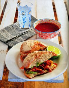 #vegan torta ahogada recipe from The Healthy Voyager's Global Kitchen Cookbook