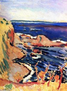 La Moulade, Collioure - (Henri Matisse)