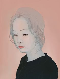 Modern Oriental painting by jo in hyuk, via Behance
