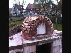 Pizzaofen, Brotbackofen, Holzofen, Steinofen Eigenbau!! (Bauanleitung), wood fired oven, pizza oven - YouTube