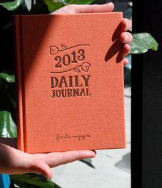 Frankie 2013 Diary - Weekly Horizontal - 15x19cm | NoteMaker - Australia's Leading Online Stationery Shop