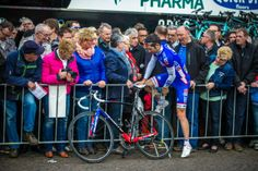 Gallery: Inside the 2014 Amstel Gold Race - The Maastricht start area is often packed to the walls, leaving some riders up to their own devices to get to the stage for sign-in. Photo: BrakeThrough Media   brakethroughmedia.com