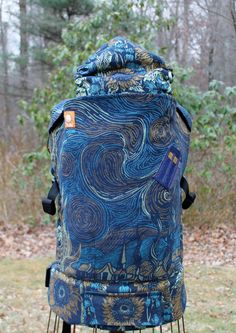 DR WHO Natibaby Van Gogh/Starry Night/Sunflowers (Customized by CRANBERRY CREEK KIDS) Tula Baby Carrier