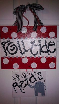Roll Tide canvas