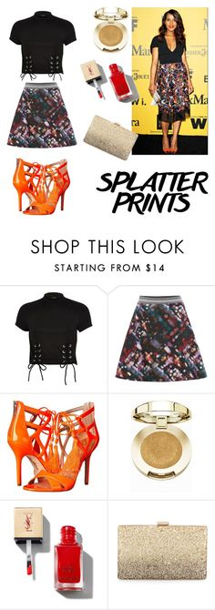 """""""02"""" by beautiful-723 ❤ liked on Polyvore featuring River Island, Sportmax, Sam Edelman, Milani, Neiman Marcus and paintiton"""