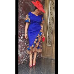 I am a woman and will always be proud of that.Today i celebrate every female entrepreneur, every mother ,every sister,every fashion… Ankara Dress Styles, African Lace Dresses, Latest African Fashion Dresses, Ankara Tops, Ankara Skirt, African Inspired Fashion, African Print Fashion, Africa Fashion, African Attire