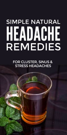 Natural headache relief and remedies for cluster, stress, tension and sinus headaches and migraines plus menstrual headaches from periods and menopause Natural Headache Relief, Natural Headache Remedies, Tension Headache, Migraine Relief, Sinus Relief, Natural Remedies For Gerd, Natural Teething Remedies, Holistic Remedies, Health Remedies