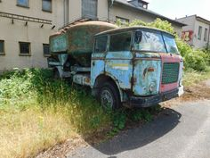 Retro Cars, Cars And Motorcycles, Techno, Abandoned, Vans, Trucks, Vehicles, Sweden, Truck