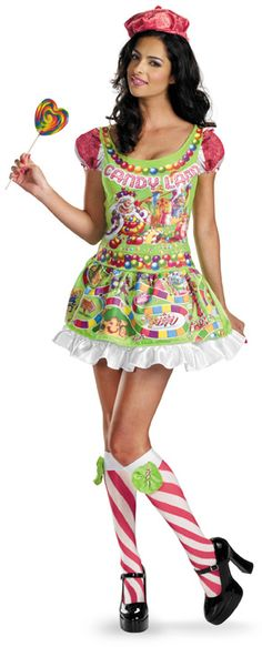 candy girl halloween costumes
