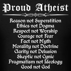 What I like about this one is when it is read back words it shows theist pride .superstition not religion, Atheist Beliefs, Atheist Quotes, Humanist Quotes, Atheist Humor, Christianity, Anti Religion, Religion And Politics, Satire, Daily Inspiration Quotes