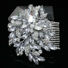 bridalesmaid bridal Comb Wedding Rhinestone Crystals Wedding Hair accessories