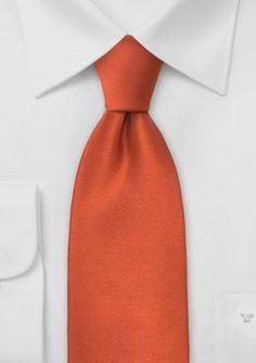Krawatte terracotta