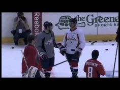 NHL funny moments. I love the first 50 seconds of this video (: #NHL #nhlnor #TSN