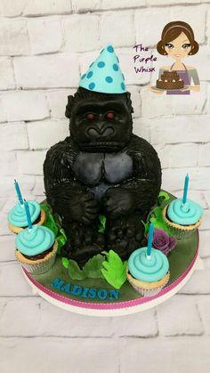 Vanilla gorilla cake. Www.thepurplewhisk.co.uk