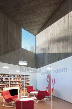 Seinjoki Public Library And Provincial Apila By JKMM Arkkitehdit