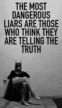 Liars quote.