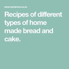 Recipes of different types of home made bread and cake. Bread Recipes, Homemade, Cookies, Cake, Breads, Biscuits, Bread Rolls, Pastel, Kuchen