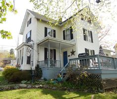 Open House today 12-2 pm Winsted, Ct Walk to Highland lake from this Stately 11 room ,2 bath Victorian features, oversized kitchen, vinyl siding, newer roof, gutters , hot water heater. Freshly painted and ready to move in. Lots of room ,nice corner lot with covered porch and deck. Call or text Mary LeBlanc Realty 860-689-2689