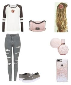 """""""Another casual style By,Vīxćwł"""" by vixcwl on Polyvore featuring Superdry, Topshop, Vans, Casetify, Miss Selfridge, Allurez and Chanel"""