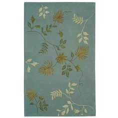 """Safavieh Rugs Soho Collection SOH313A-210 Light Blue 2'6"""" x 10' Runner by Safavieh. $175.00. Contemporary Hand Tufted Runner rug made from Wool measuring 2ft-6in x 10ft-0in in size. This is part of the Soho collection with a Light Blue color. This rug is imported from India.. Save 63% Off!"""