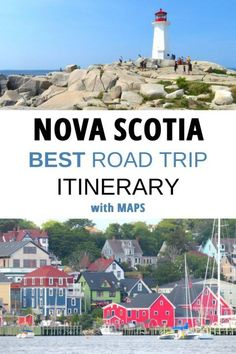 This 10 Day Nova Scotia Road Trip Itinerary is your guide to Nova Scotia Canada and the beauty of the east coast maritime region. Costa Rica, Nova Scotia Travel, Visit Nova Scotia, Canadian Travel, Architecture Design, Road Trip Hacks, Prince Edward Island, Roadtrip, Info Canada