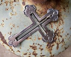 Sterling Silver Cross Inside the Cross Pendant, Vintage Native American Indian Necklace Unisex 90 Day Plan, Indian Necklace, Sterling Silver Cross Pendant, Native American Indians, Nativity, Etsy Seller, Turquoise, Unisex, Inspired