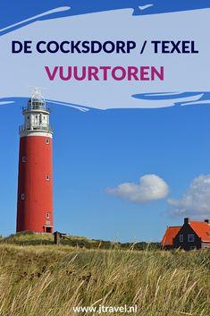 Hét symbool van Texel is de rode vuurtoren op de noordpunt van het eiland vlakbij De Cocksdorp. Na een trap van 153 treden sta je 45 meter boven zeeniveau op een omloop met een schitterend uitzicht over de zee. Meer informatie over de Vuurtoren van Texel lees je hier? Lees je mee? #vuurtoren #vuurtorentexel #decocksdorp #texel #nederland #waddeneiland #jtravel #jtravelblog