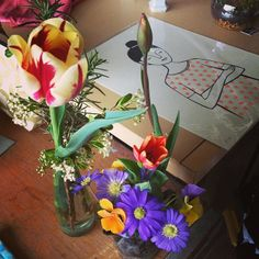 spring at the makery photo copyright lmc late spring flowers #arrangementsbylee photo copyright lmc