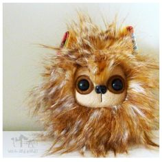 $17 Miniature Lionhead Light Brown by Wickandbandit on Handmade Australia