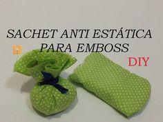 Estúdio Brigit - Livros Artesanais & Arte: Sachet para Emboss, como fazer? - DIY- (Anti stati...