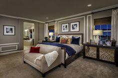 La Ventana, a KB Home Community in Rancho Cucamonga, CA (Riverside / San Bernardino)  Residence 2- Master Bedroom