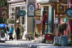 North Hatley Village - We love shops and shopping - seanmurrayuk.com & facebook.com/shoppedinternational