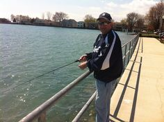 Fishing In New Baltimore Sunny Weather Gone Chesterfield Michigan