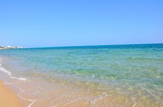 beautiful beach at hammamet