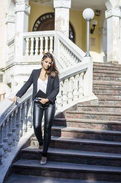 Fashion blogger Beba Gottel