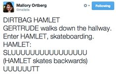 "This Teenage Dirtbag ""Hamlet"" Remake Is Comedy Gold For Shakespeare Fans"