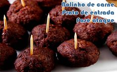Bolinho de carne - Receitas dukan - Powered by @ultimaterecipe (Recetas Fitness Carne)