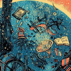 everything's up in the air - James R. Eads
