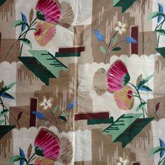 Amazing Art Deco fabric - @donnaflower- #webstagram