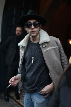 They Are Wearing: Milan Men's Fashion Week Fall 2014 - Slideshow - WWD.com