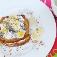 Big Greek French toast---not a purist THM recipe but it would work