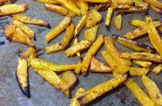 Zdravé dýňové hranolky Carrots, Snacks, Cookies, Vegetables, Food, Crack Crackers, Appetizers, Biscuits, Essen